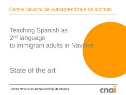 Centro Navarro de Autoaprendizaje de Idiomas