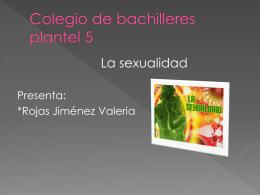 sexualidad - valeriarojas95