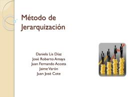 Método de Jerarquización d - SALARIUM