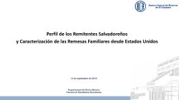 Presentación - REDIBACEN - Banco Central de Reserva