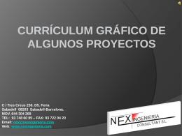 Diapositiva 1 - NEX Ingenieria Consultant SL
