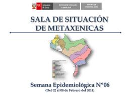 Diapositiva 1 - Dirección de Salud II