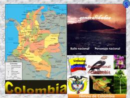 Ave nacional de Colombia