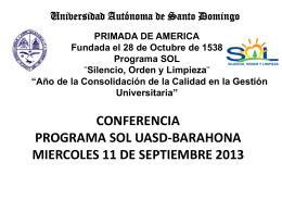 Presentación de PowerPoint - Universidad Autónoma de Santo