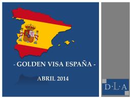 golden visa: inmobiliaria