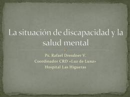 La situación de discapacidad y la salud mental