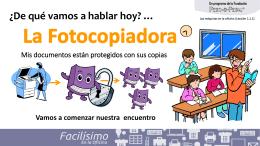 El concepto de la fotocopiadora
