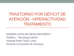 TDAH - Universidad de Antioquia