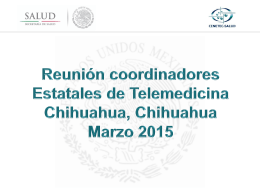 Reunión Coordinadores Chihuahuha