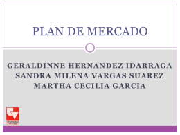 PLAN DE MERCADO - Campus Virtual