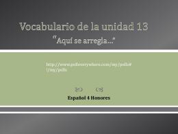 Español 4 H