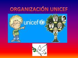 UNICEF trabaja sobre recursos materiales para ayudar a los países