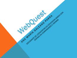 Webquest (1179581)