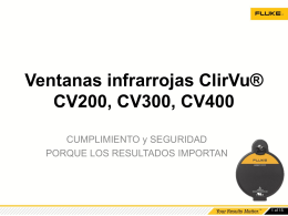 CV200, CV300, CV400 ClirVu® IR Window