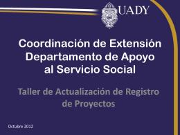 Gestión de la Calidad en la Universidad Autónoma de Yucatán