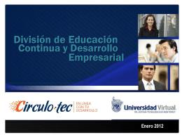 Universidad Virtual del Sistema Tecnológico de Monterrey