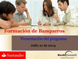 Formando Banqueros