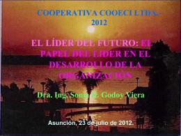 Definiciones de Liderazgo - Cooperativa COOECI Ltda.
