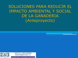 Soluciones para reducir el impacto ambiental y social de la ganaderia