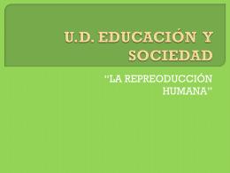 U.D. educación y sociedad
