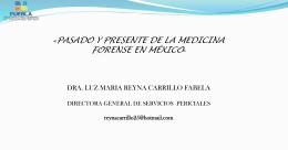 Dra. Luz María Reyna Carrillo Fabela