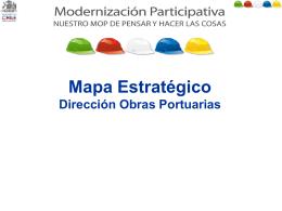 Mapa Simplificado DOP 2010 - Dirección de Obras Portuarias