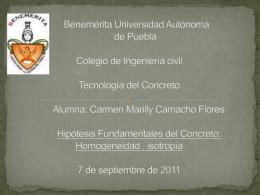 Benemérita Universidad Autónoma de Puebla Colegio de Ingeniería