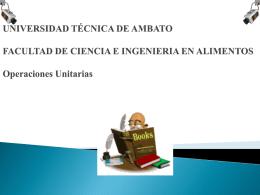 UNIVERSIDAD TÉCNICA DE AMBATO FACULTAD