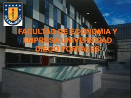FACULTAD DE ECONOMIA Y EMPRESA UNIVERSIDAD DIEGO
