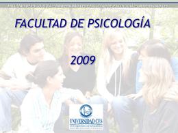 universidad ces • facultad de psicología – universidad ces