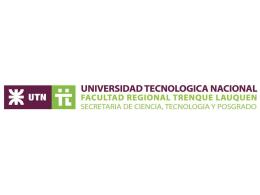 Universidad y Tecnologia - Facultad Regional Trenque Lauquen