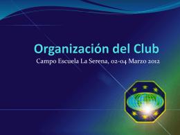 Organizaci¢n del Club [Autoguardado]