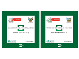 FE-12-016 Caja de CD.. - Universidad Tecnológica de Tulancingo