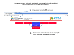 Manual de usuario - División de Personal Portuguesa