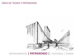 historia y patrimonio iv - Escuela de Arquitectura