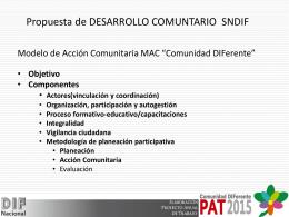participación - Micrositios DIF