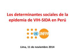 La mortalidad materna en el Perú: De la estimación a la