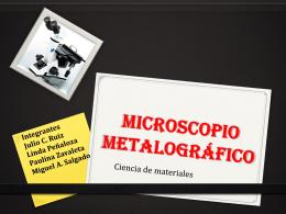 Microscopio Metalográfico - ciencia