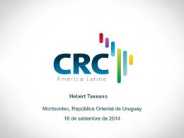 Acciones a Futuro del CRCAL – Hebert Tassano