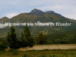 El Estado de Ecuador: forma de gobierno, presidente y fecha de