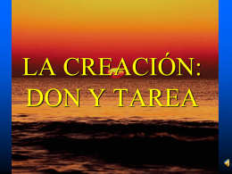 LA CREACIÓN (3,5 MB
