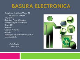 Presentac..[1] basura electronica