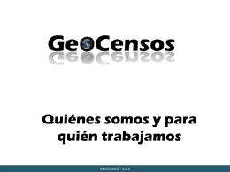 Geo Datos Abiertos