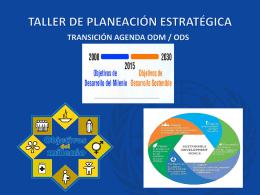 Transición ODM ODS