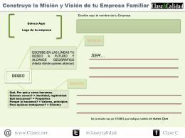 Descargar Modelo de Misión y Visión