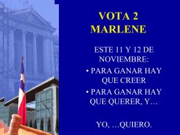 vota 2 marlene