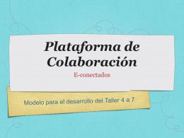 06 Plataforma de Colaboración