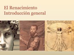 El Renacimiento Introducción general