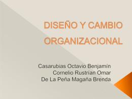 DISEÑO Y CAMBIO ORGANIZACIONAL