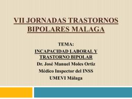 vii jornadas trastornos bipolares malaga